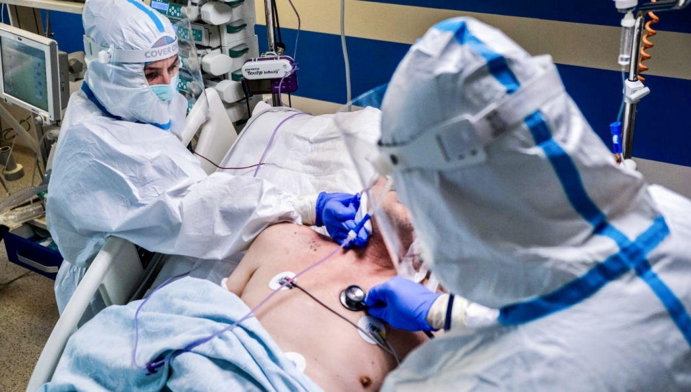 Wicepremier dodał, że PiS udało się zwiększyć nakłady na politykę zdrowotną (fot. Omar Marques/SOPA Images/LightRocket via Getty Images)
