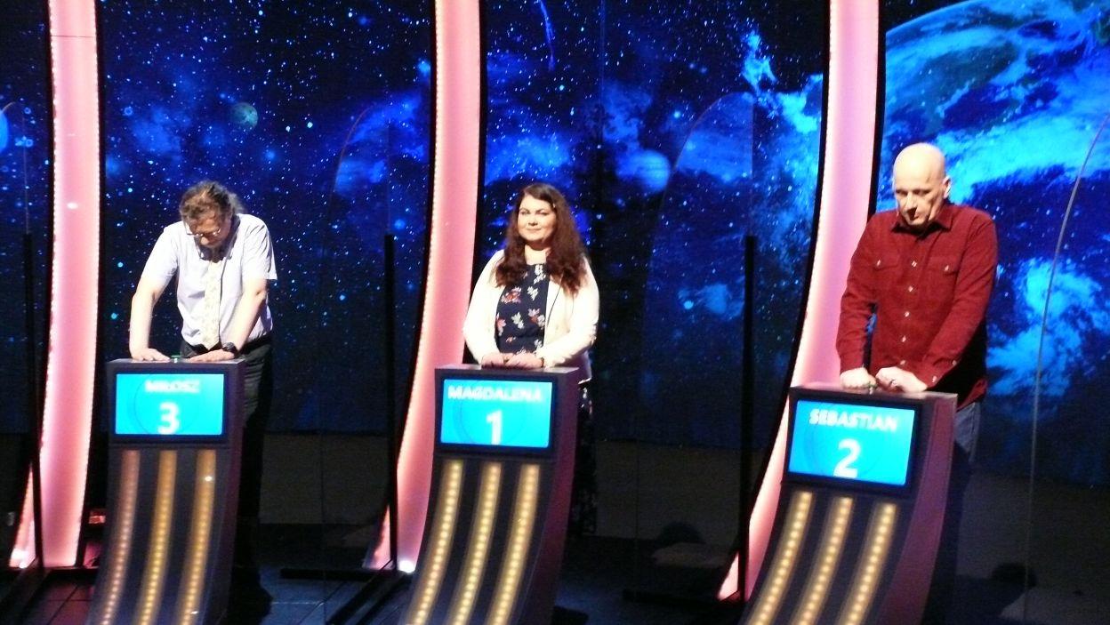 Finałowa trójka uczestników Wielkiego Finału 124 edycji
