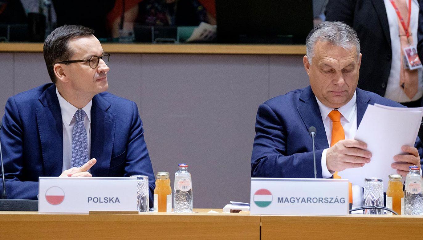 W konkluzjach szczytu Rady Europejskiej zawarte zostały kompromisowe zapisy dot. praworządności (fot. Thierry Monasse/Getty Images)