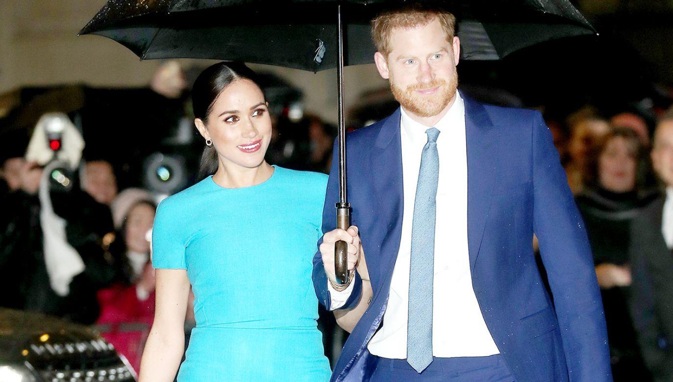 Księżna Meghan i książę Harry (fot. Chris Jackson/Getty Images)