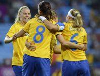 Piłkarki z Kraju Trzech Koron w grupie zanotowały zwycięstwo i dwa remisy (fot. Getty Images)