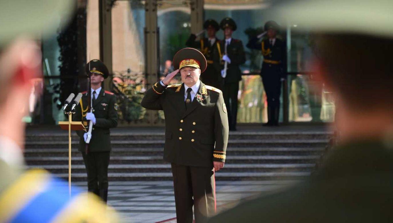 Alaksandr Łukaszenka rządzi Białorusią od 1994 roku (fot. PAP/EPA/ANDREI STASEVICH / BELTA HANDOUT)