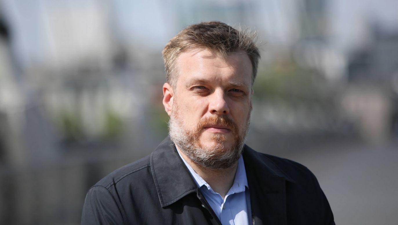 """Lider Lewicy skrytykował Tuska za utrzymanie tzw. """"kompromisu aborcyjnego"""" (fot. PAP/Leszek Szymański)"""
