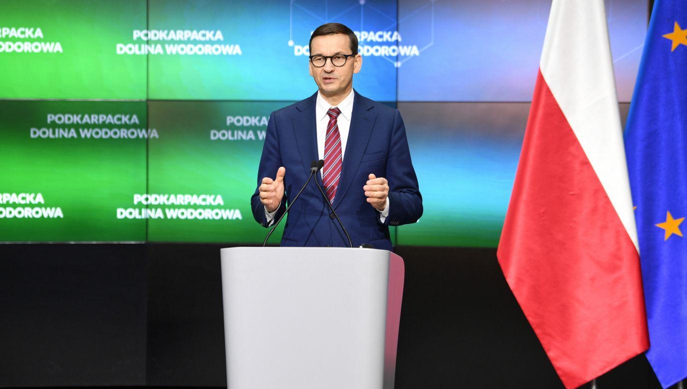 Premier Mateusz Morawiecki przedstawił Polski Ład (fot. PAP/Darek Delmanowicz)