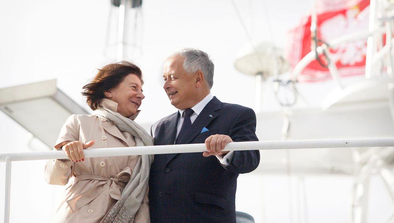 Radni PiS zaznaczali, że para prezydencka była ważna dla poznaniaków (fot. Forum/ Lukasz Glowala)