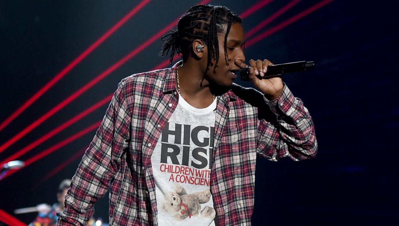 A$AP Rocky jest podejrzewany o napaść w związku z bójką w Sztokholmie (fot. Kevin Winter/MTV1415/Getty Images For MTV)