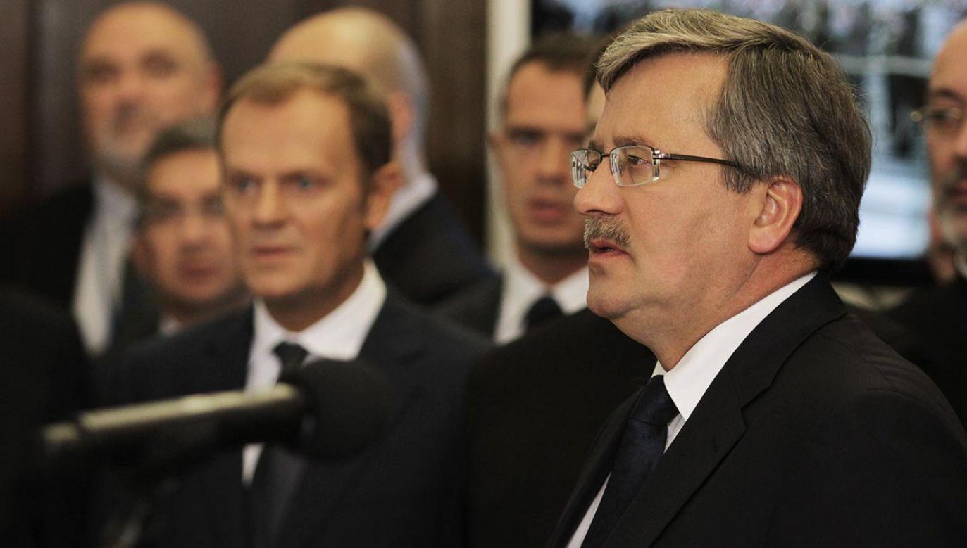 Co roku słowa Komorowskiego powracają (fot. PAP/Bartłomiej Zborowski)