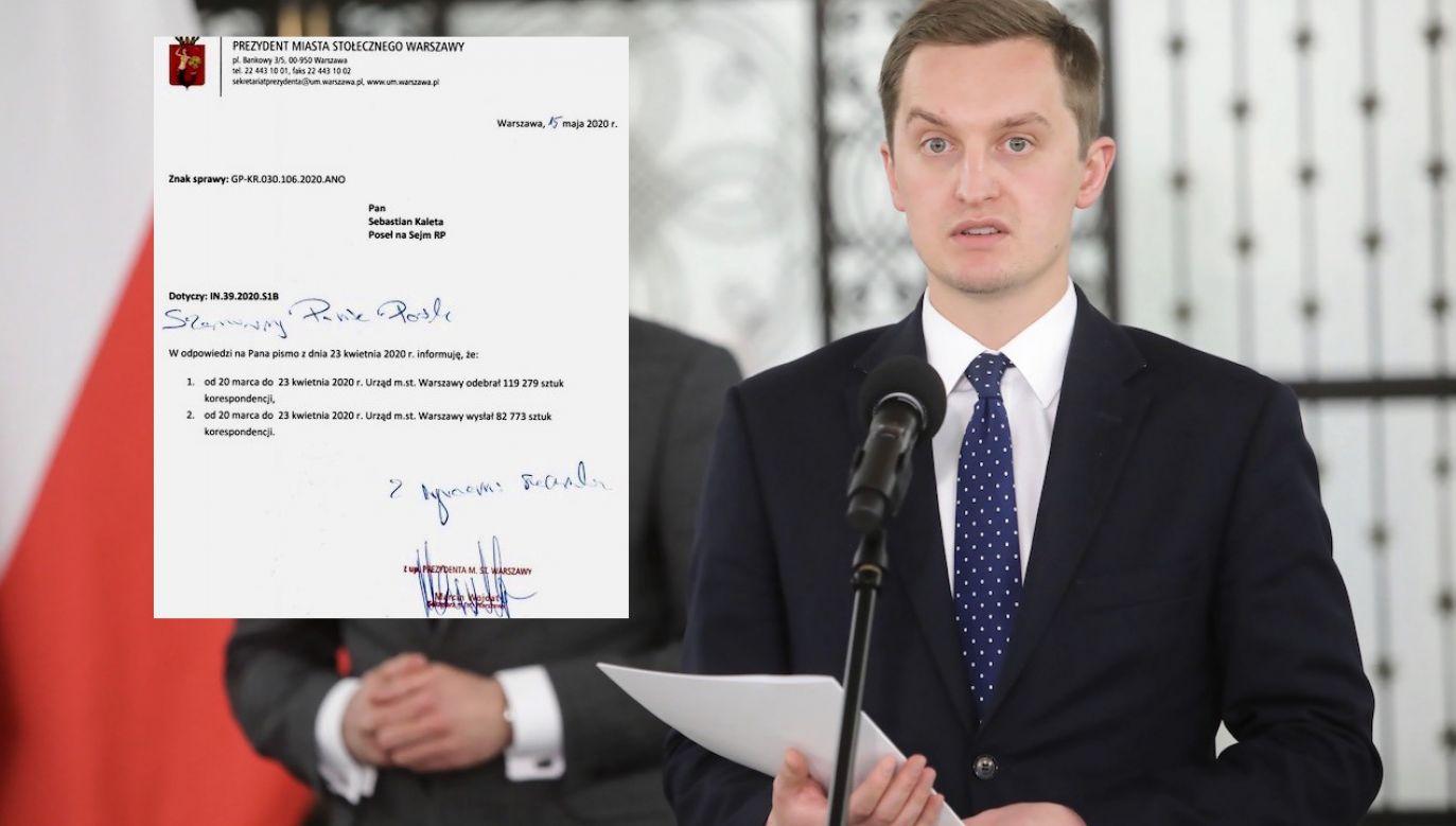 """Wcześniej rzeczniczka urzędu nazwała doniesienia wiceministra """"nieprawdziwymi"""" (fot. PAP/Wojciech Olkuśnik)"""