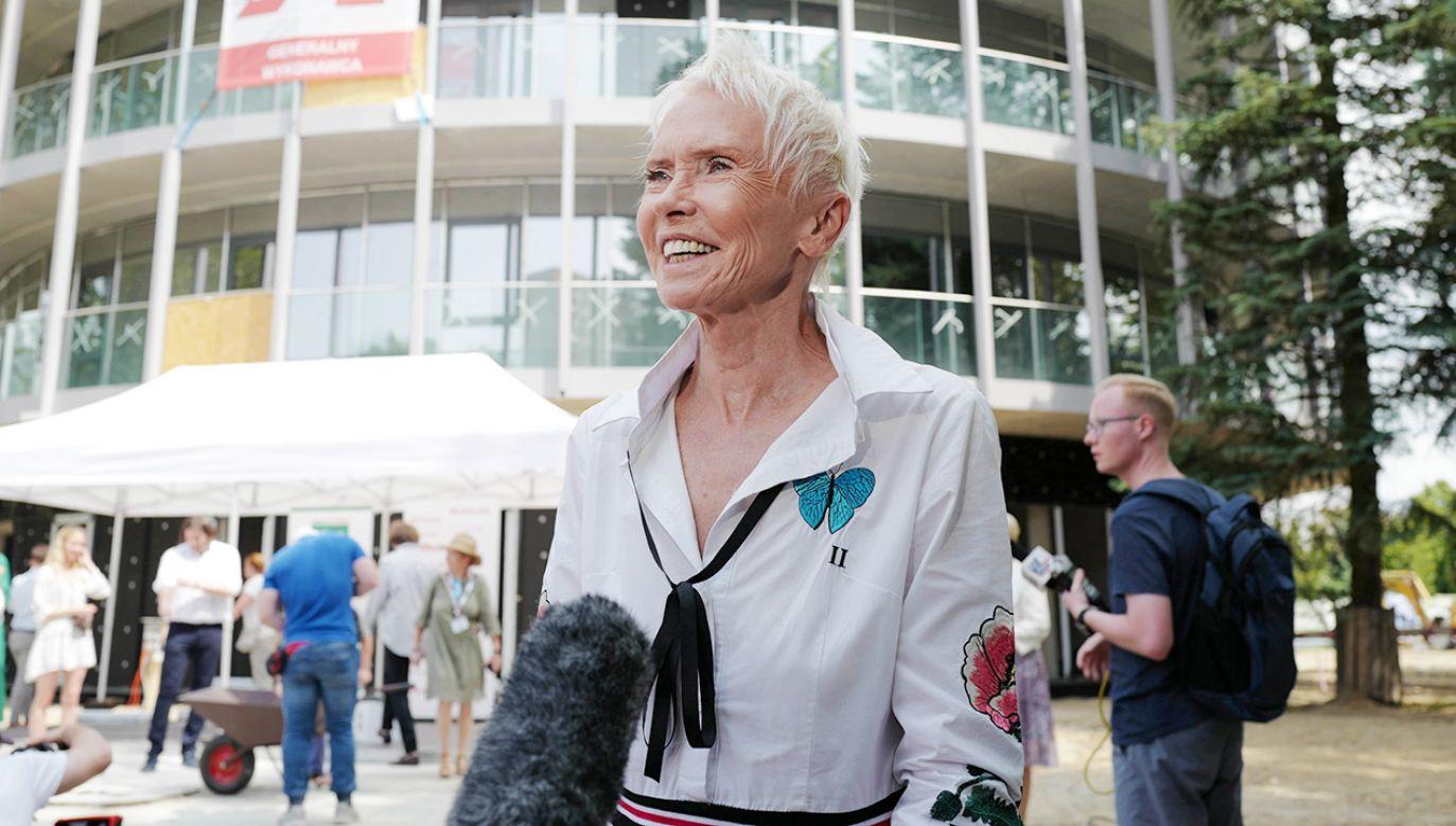 Prezes Fundacji Akogo? Ewa Błaszczyk-Janczarska (fot. arch.PAP/M.Marek)