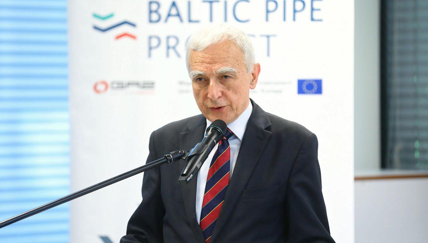 Piotr Naimski (fot. arch. PAP/Rafał Guz)