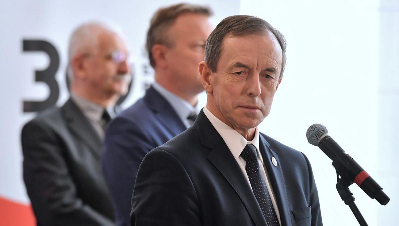Marszałek Tomasz Grodzki obiecywał, że tym razem Senat nie będzie przedłużał prac nad ustawą (fot. PAP/Piotr Nowak)