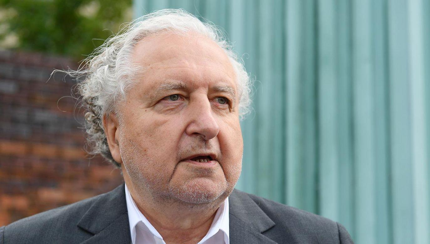 Były prezes TK mówił też o możliwości postawienia przed Trybunałem Stanu obecnego prezydenta (fot. PAP/Marcin Kmieciński)