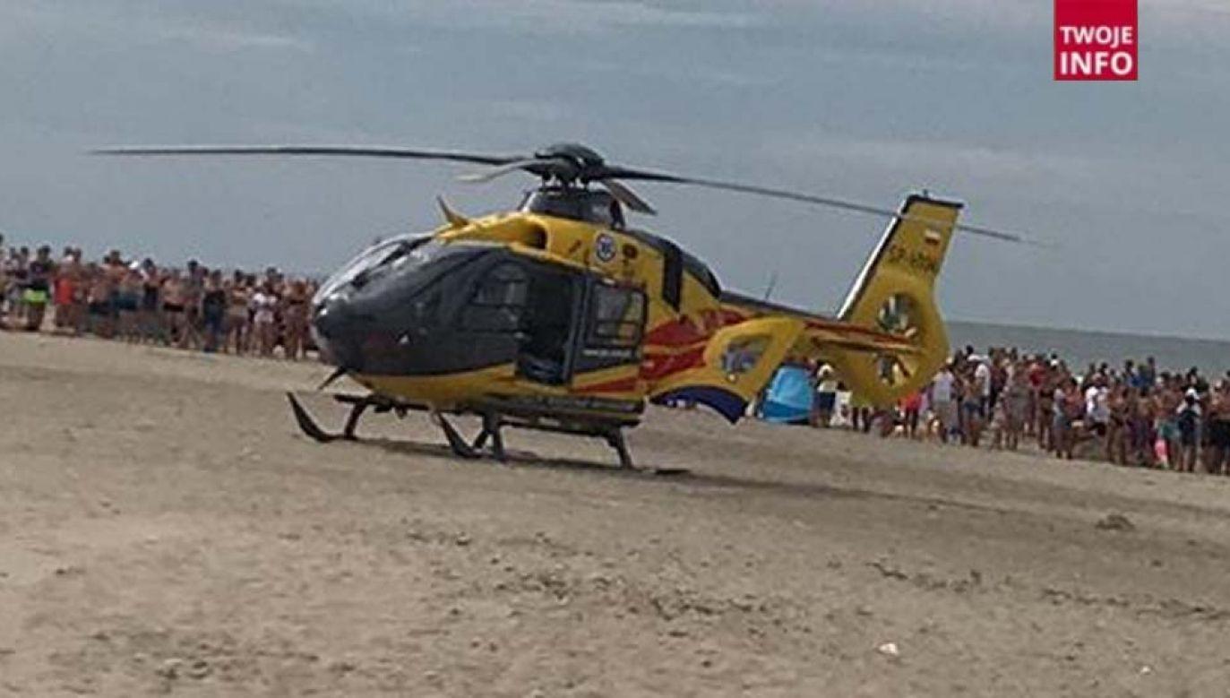 25-latek trafił do szpitala w Gdańsku (fot. Twoje Info)