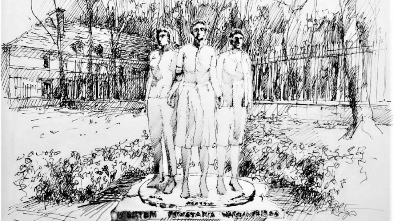 Pomnik będzie wykonany z brązu (fot. Urzad m.st. Warszawy)