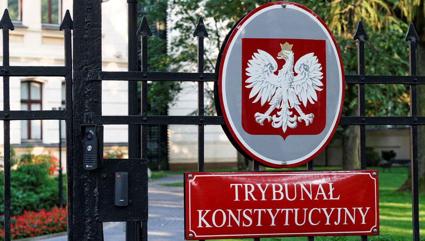 TK rozpoznał sprawę podczas półgodzinnej rozprawy (fot. Shutterstock/MOZCO Mateusz Szymanski)