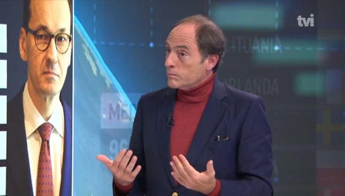 Paulo Portas wycofał się z polityki (fot. TVI24)