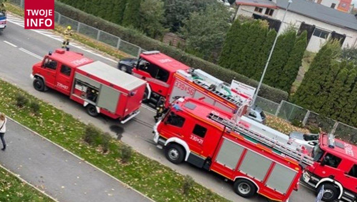 Wypadek w Sobótce (fot. Twoje Info)