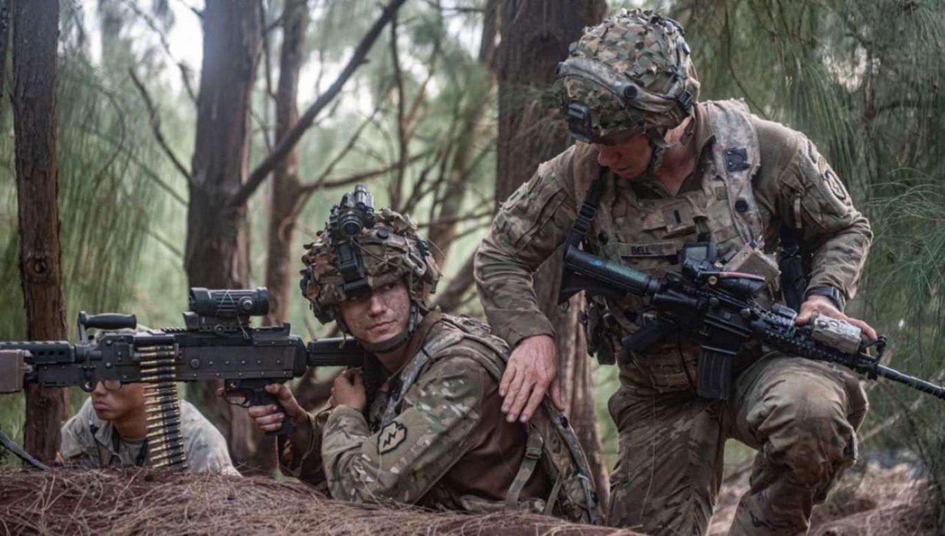 Siły amerykańskie mają opuścić Afganistan do maja 2021 r.  (fot. US Army: sierż. Mitchell Ryan)