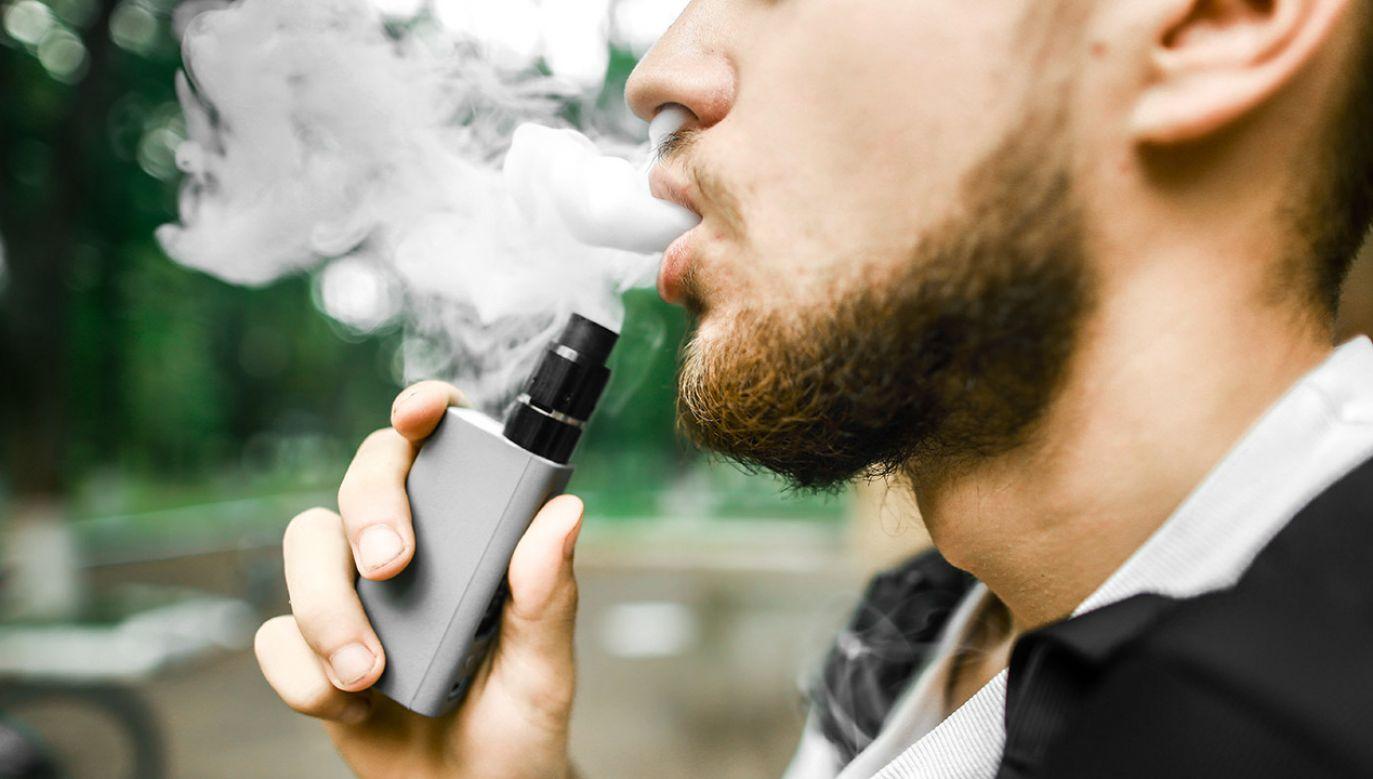 Pomysłodawcy nowego prawa wskazują na popularność tych produktów wśród młodzieży i związane z tym zagrożenia dla zdrowia (fot. Shutterstock/Kurylo Sofiya)