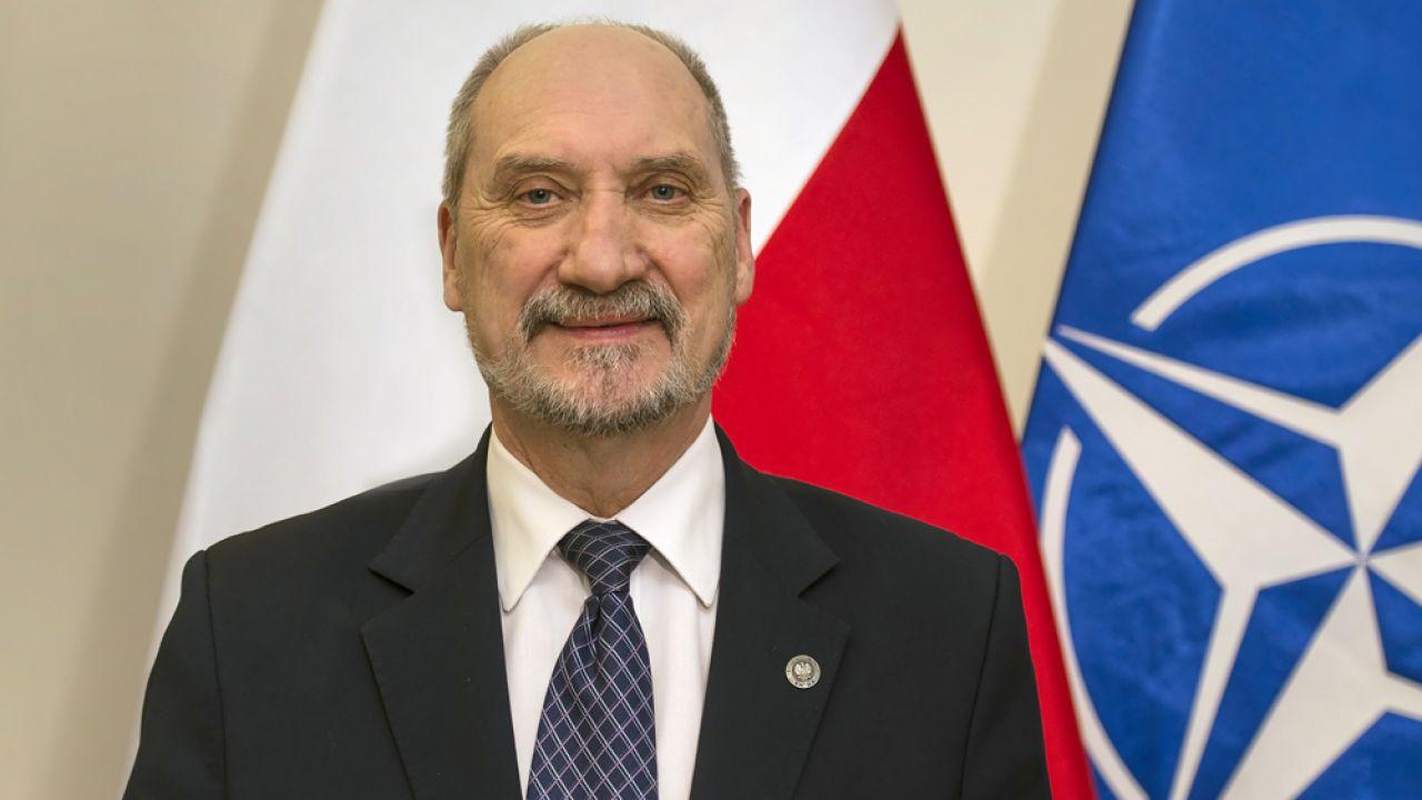Antoni Macierewicz, minister obrony narodowej (fot. MON)