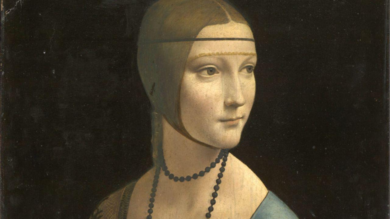 Portret Cecilii Gallerani  (fot. © Princes Czartoryski Foundation)