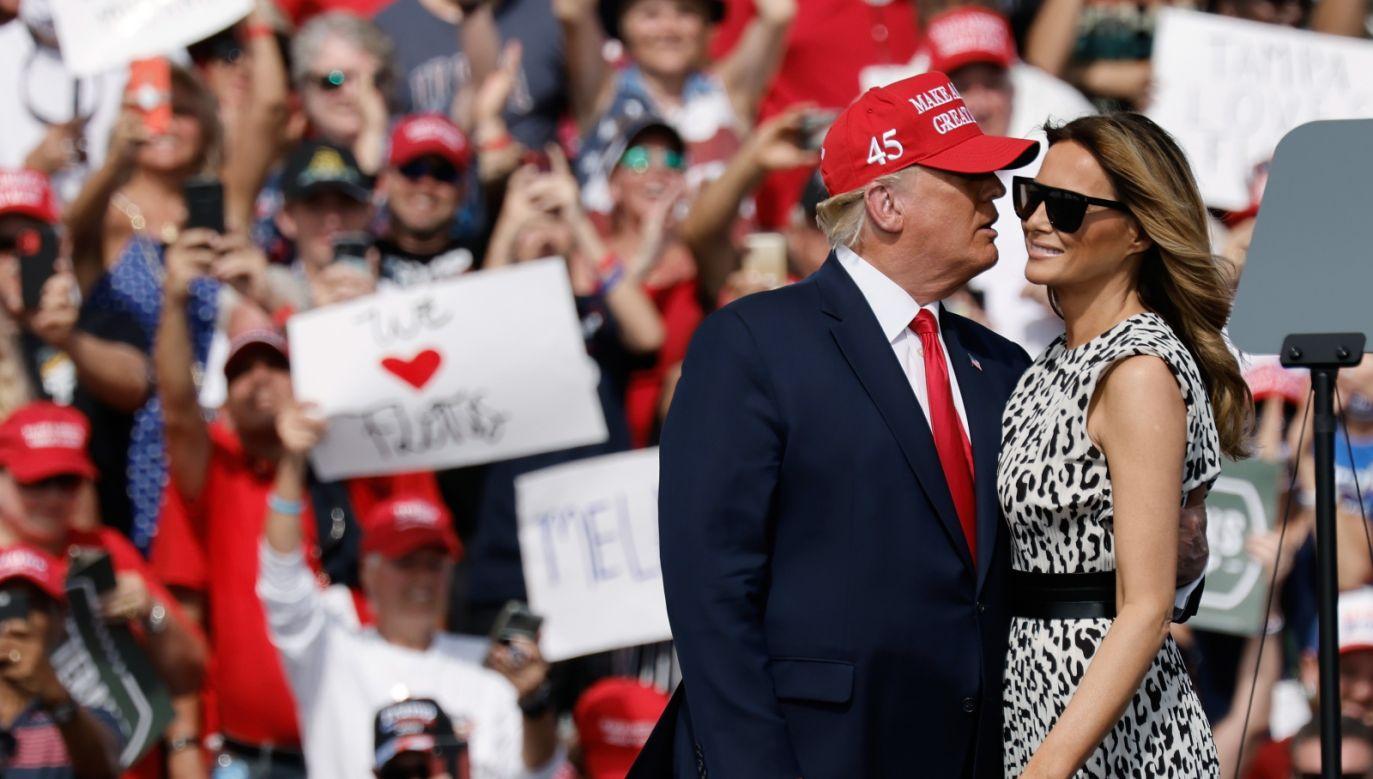 Zwycięstwo Trumpa na Florydzie w poprzednich wyborach w 2016 r. praktycznie przesądziło o korzystnym dla niego końcowym wyniku (fot. PAP)