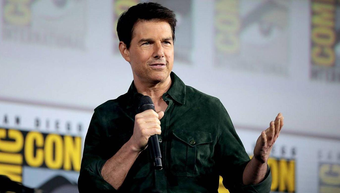 Tom Cruise zaprotestował przeciwko działaniom HFPA (Wiki 2.0/Gage Skidmore)