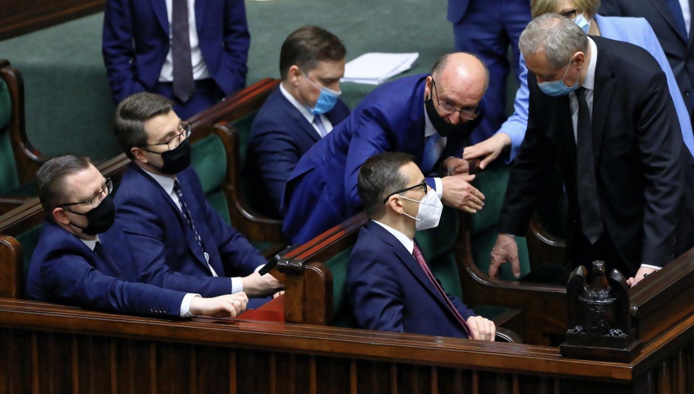 Nowy Ład ma byćprogramem rządu na najbliższe lata (fot. PAP/Rafał Guz)