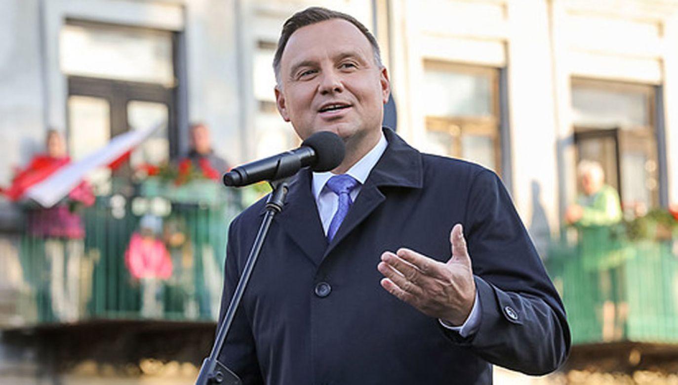 Prezydent Duda odwiedzi Dolny Śląsk (fot. KPRP/Jakub Szymczuk)