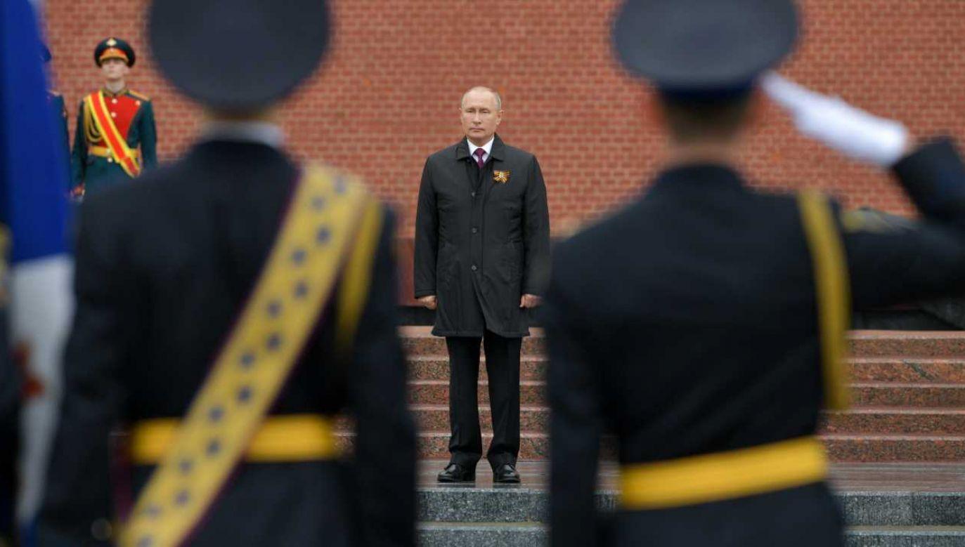 Celem Władimira Putina jest destabilizacja Zachodu (fot. PAP/EPA/ALEXEI DRUZHININ / SPUTNIK / KREMLIN POOL)