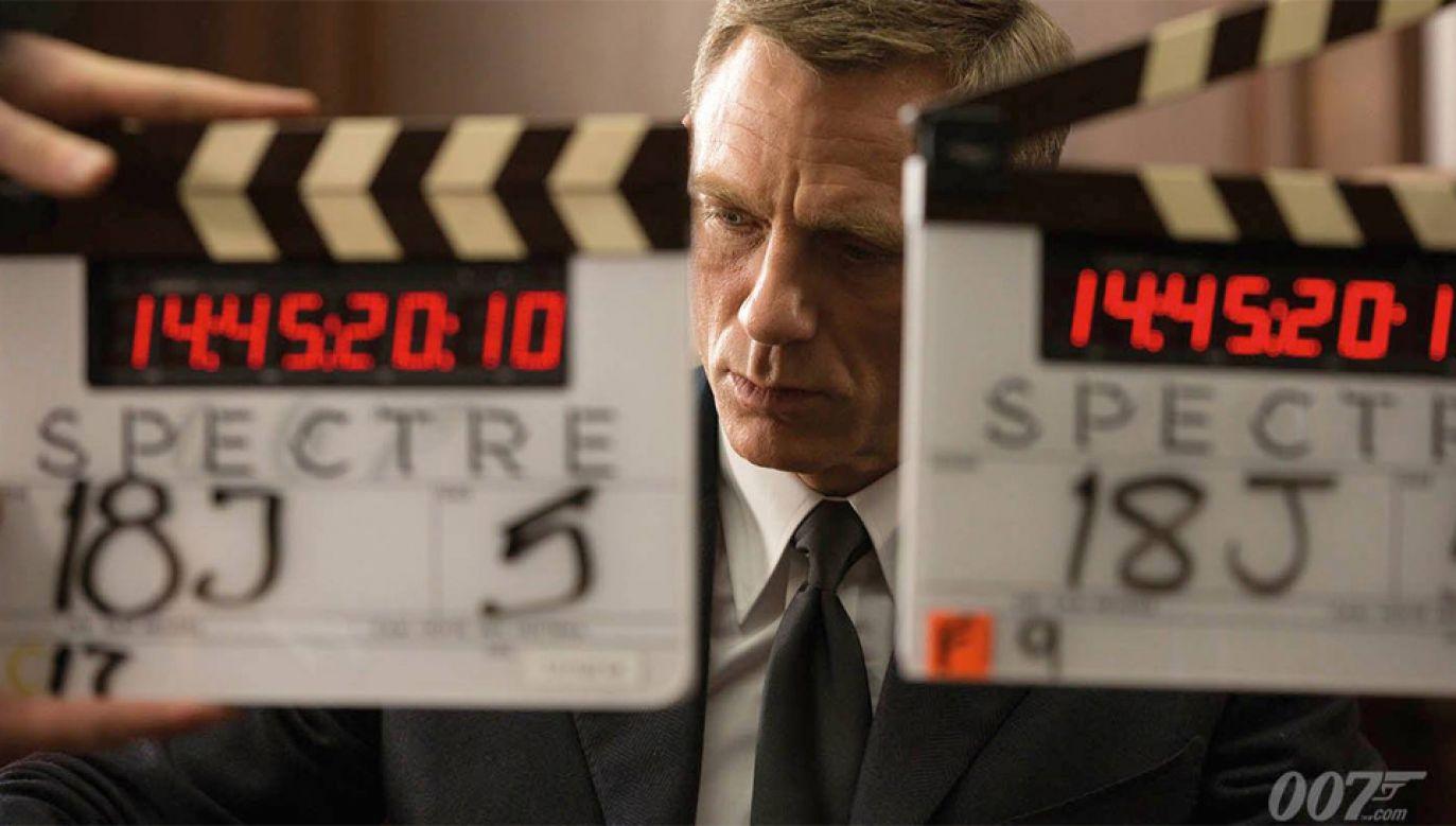 Daniel Craig po raz piąty wcieli się w rolę Jamesa Bonda (fot. mat.pras.)