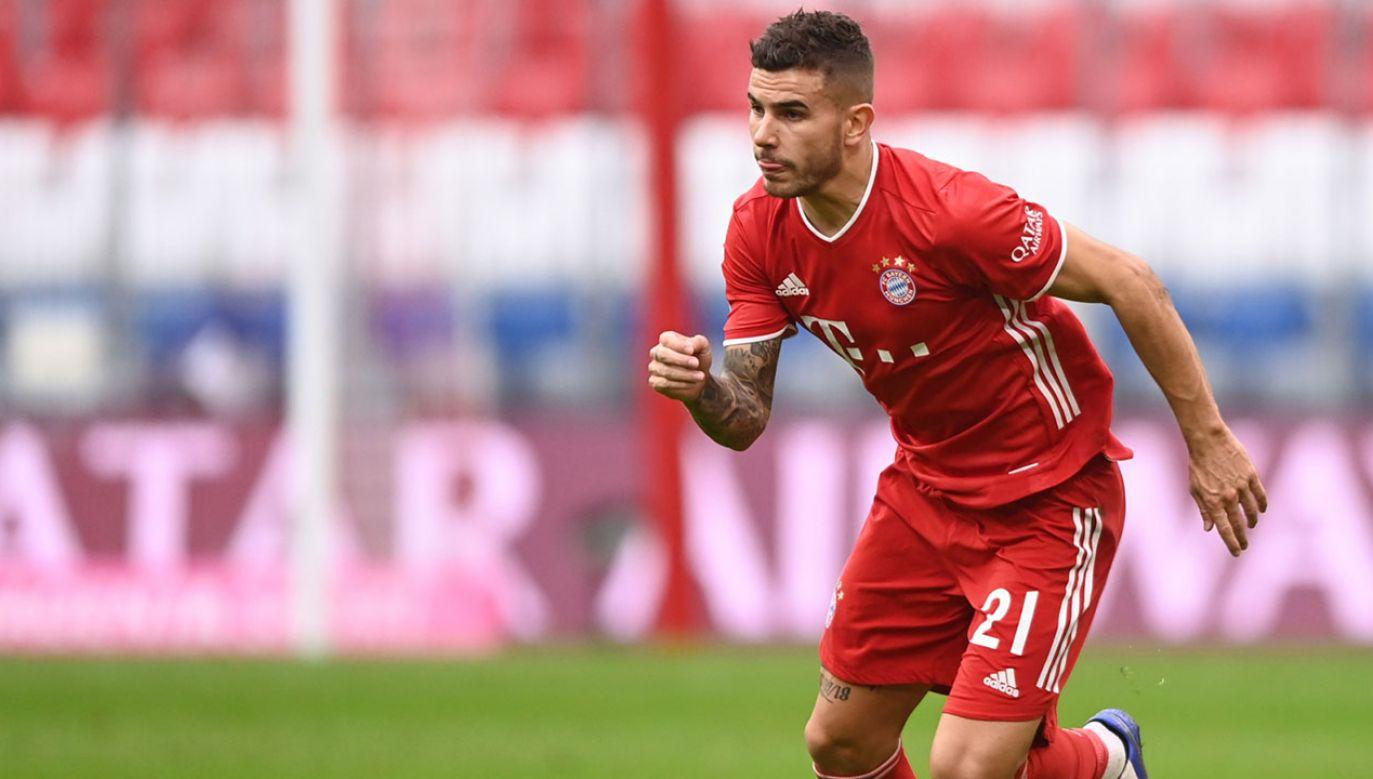 Dwa lata temu Lucas Hernandez trafił do Bayernu z Atletico Madryt za 80 mln euro (fot. PAP/EPA/LUKAS BARTH-TUTTAS)