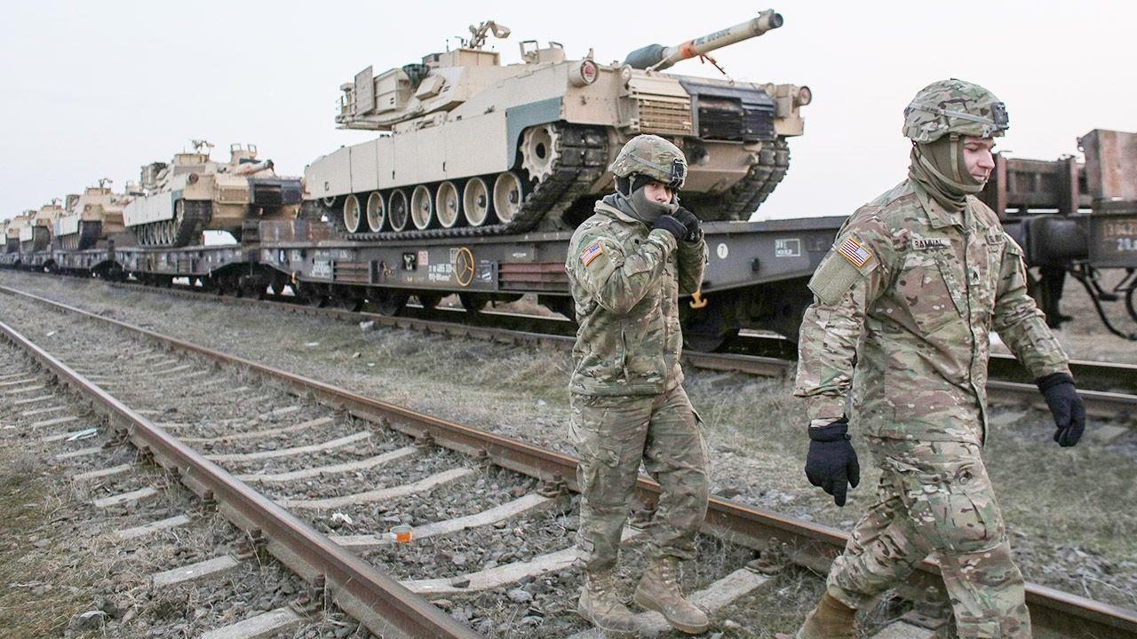 Mike Pompeo o stacjonowaniu wojsk USA w Polsce (fot. Inquam Photos/Octav Ganea/via REUTERS)