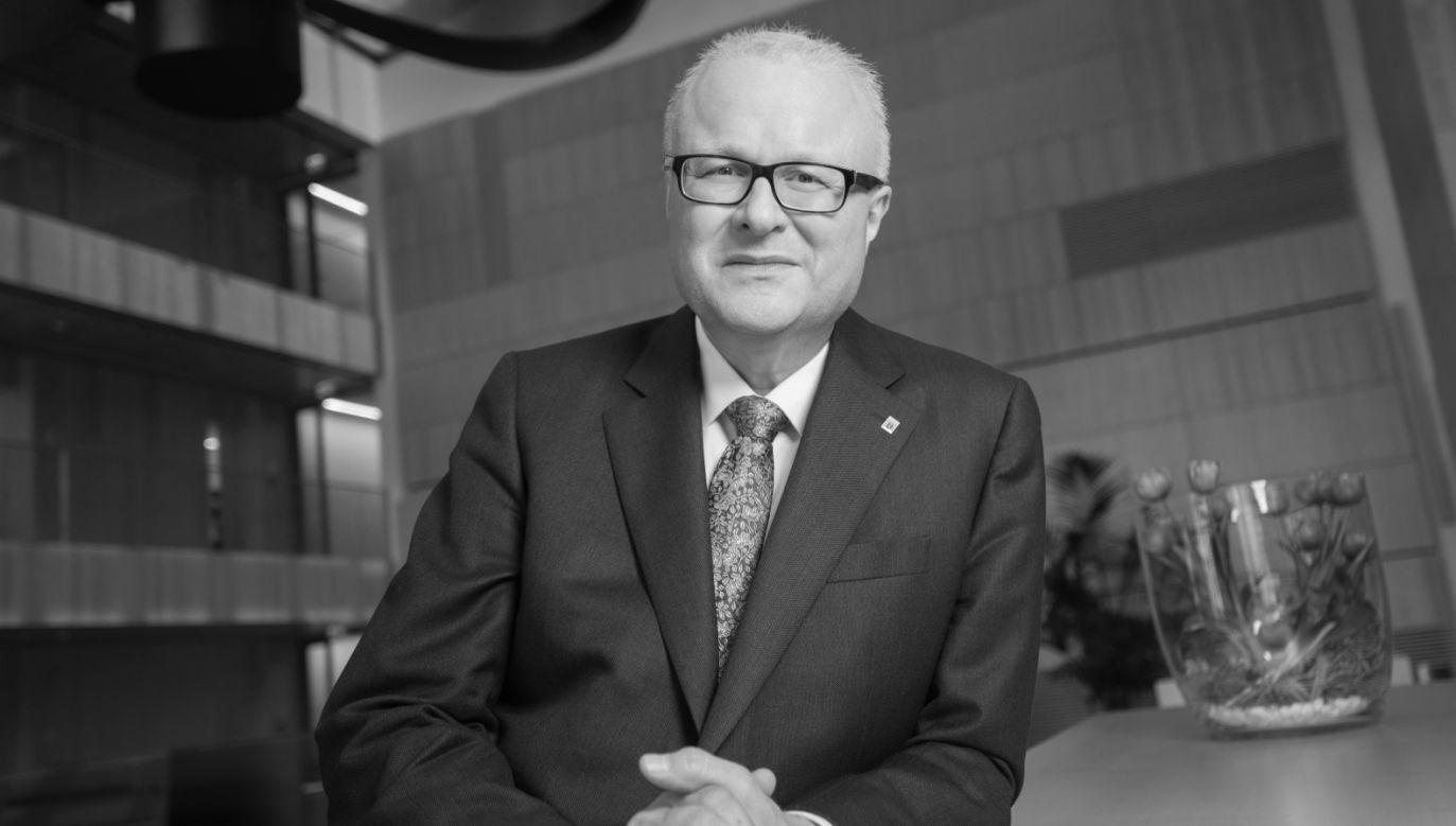 Thomas Schäfer należał do chadeckiej partii CDU, był zaangażowany w politykę od blisko dwóch dekad (fot. PAP/EPA/SABRINA FEIGE HANDOUT)