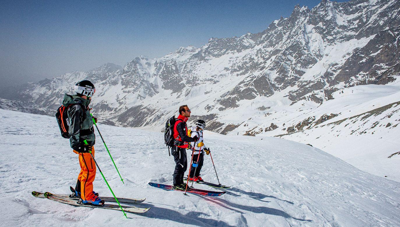 Sezon narciarski we Włoszech (fot. Alessandro Rota/Getty Images)