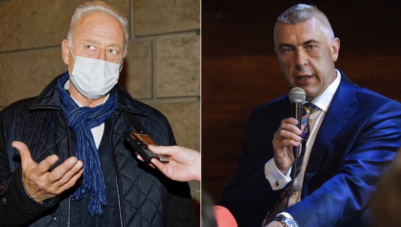 Co Krauze powiedział agentom i prokuratorowi? (fot. PAP/Jakub Kaczmarczyk, Artur Widak/NurPhoto via Getty Images)