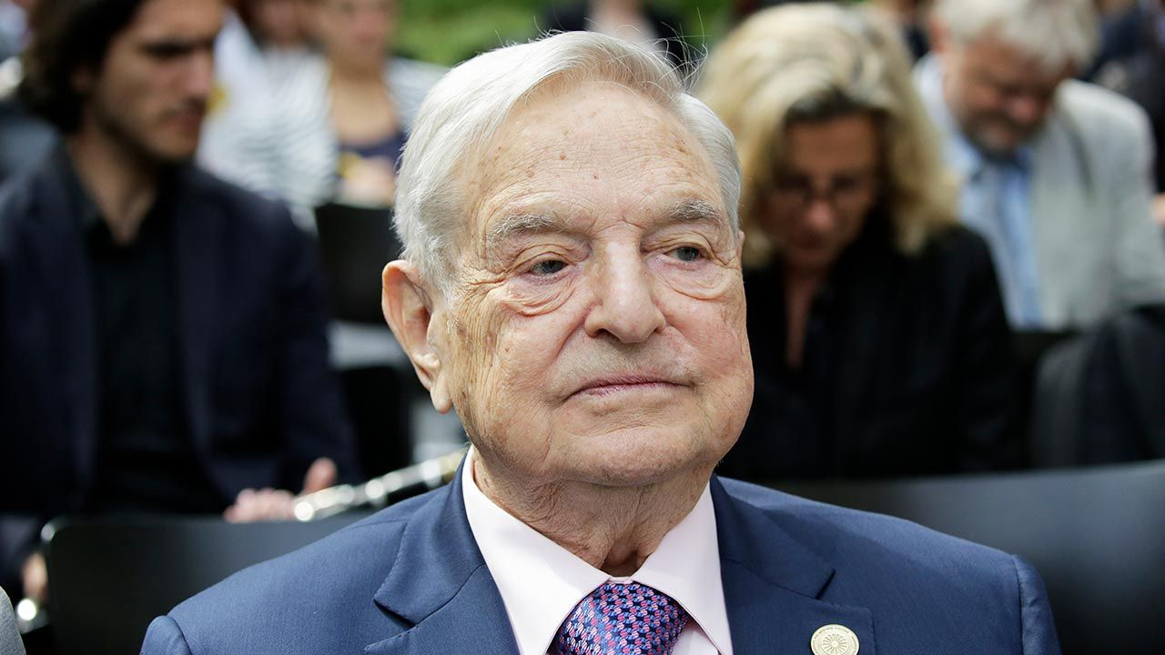 George Soros (fot. Popow/ullstein bild via Getty Images)