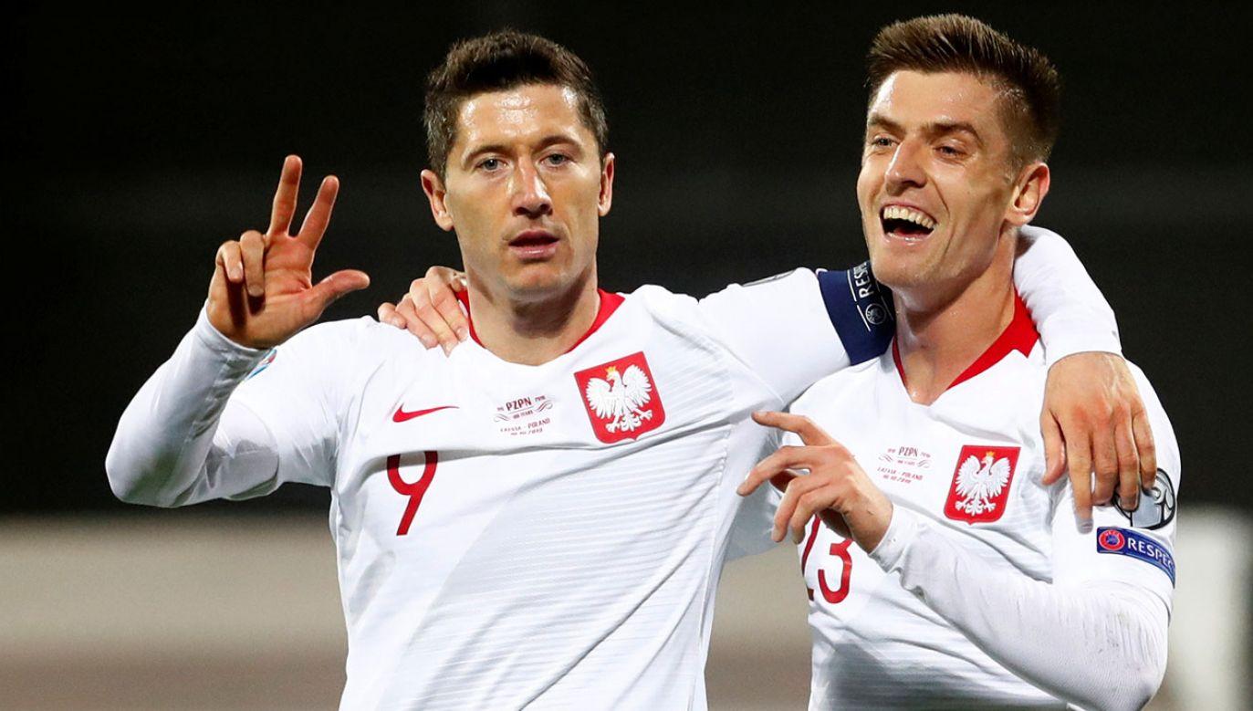 Biało-Czerwoni mają już pewny awans na przyszłoroczny turniej (fot.  REUTERS/Ints Kalnins)