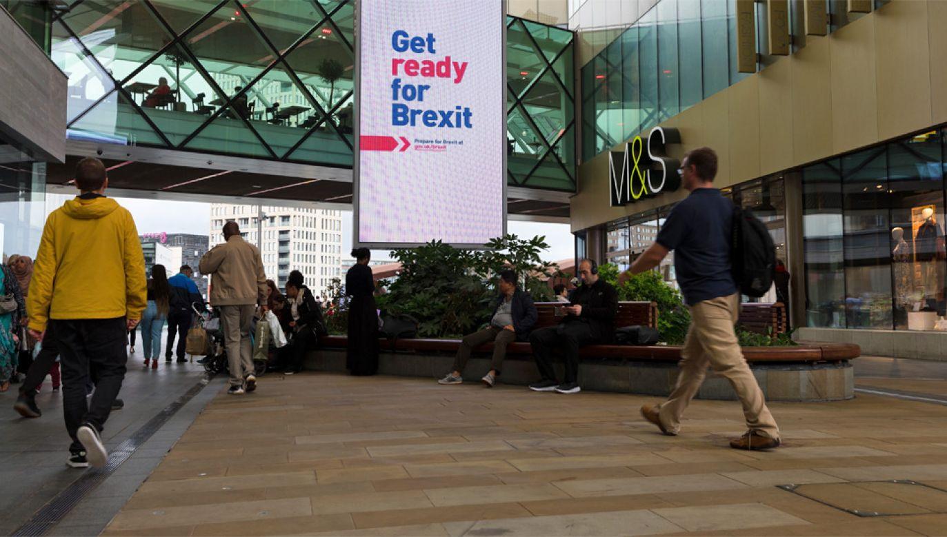 Opuszczenie Unii Europejskiej przez Wielką Brytanię powinno nastapić 31 października (fot. PAP/EPA/VICKIE FLORES)