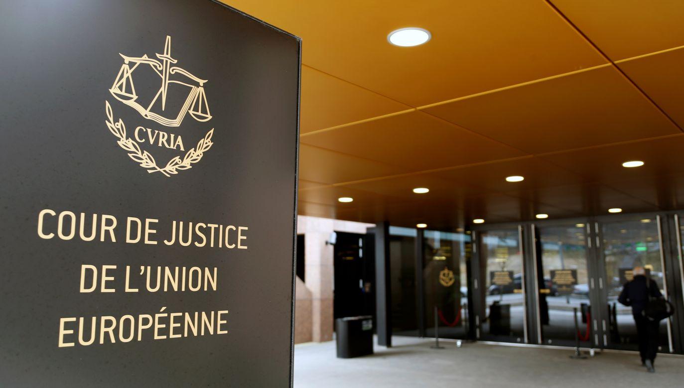 Pytania w sprawie KRS do Luksemburga skierowali sędziowie Sądu Najwyższego (fot. REUTERS/Francois Lenoir)