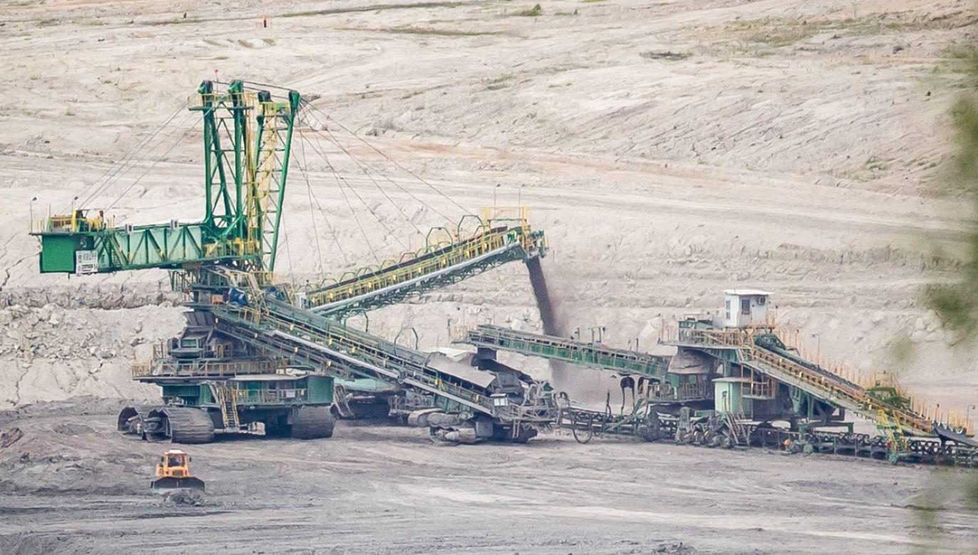 Mateusz Kosiński o kopalni Turów (fot. Gabriel Kuchta/Getty Images)