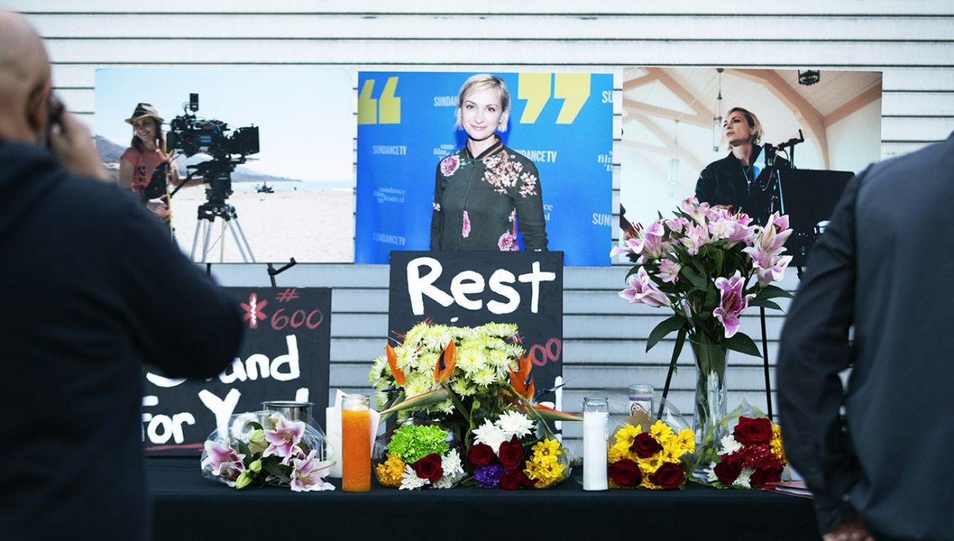 Tragiczna śmierć Halyny Hutchins (fot. Myung J.Chun /Los Angeles Times/Getty Images)