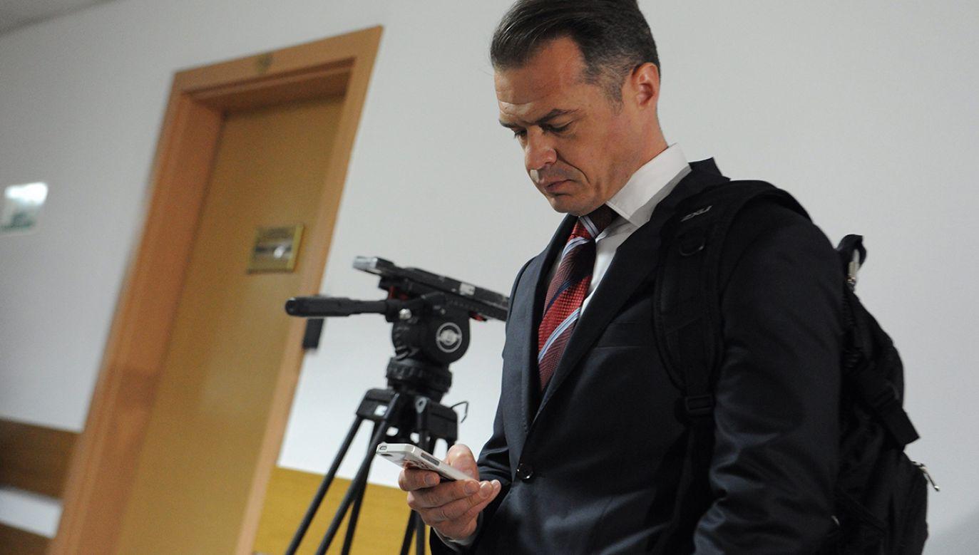 Nowak zarządza Ukrawtadorem od 2016 r. (fot. arch. PAP/Grzegorz Jakubowski)