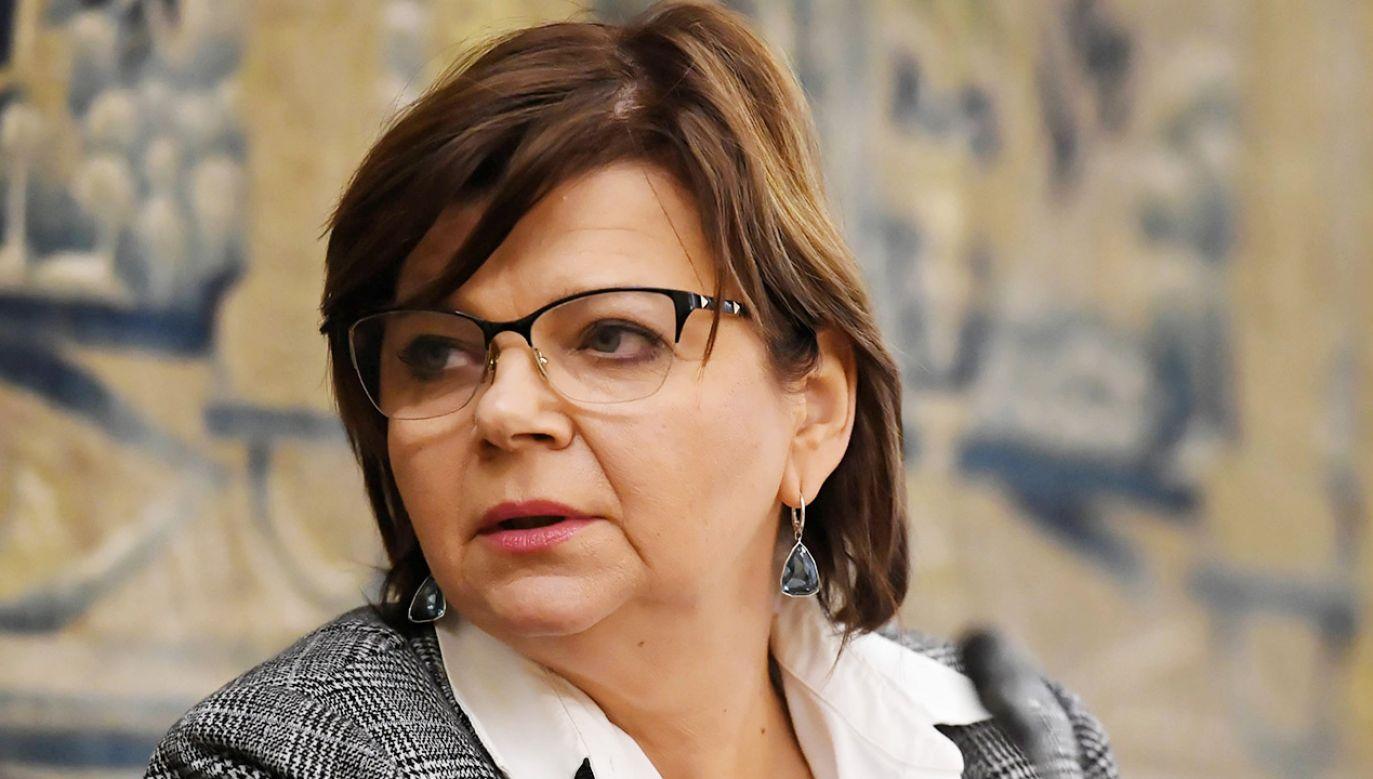 Izabela Leszczyna odchodzi z prezydium klubu parlamentarnego KO (fot. PAP/Piotr Nowak)