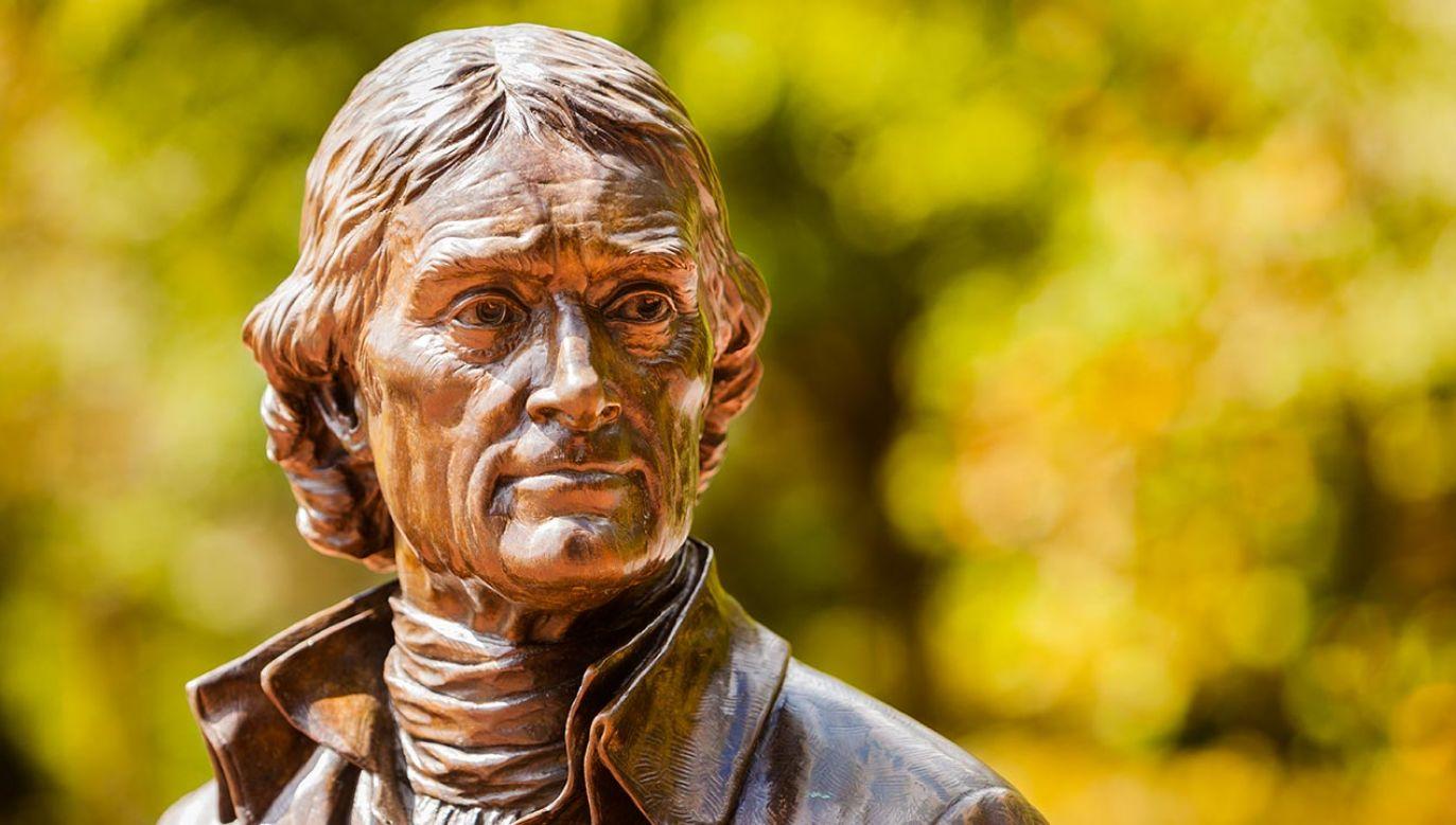 Pomnik Thomasa Jefferson stał w nowojorskim ratuszu przez ponad 100 lat (fot. Shutterstock/christianthiel.net)