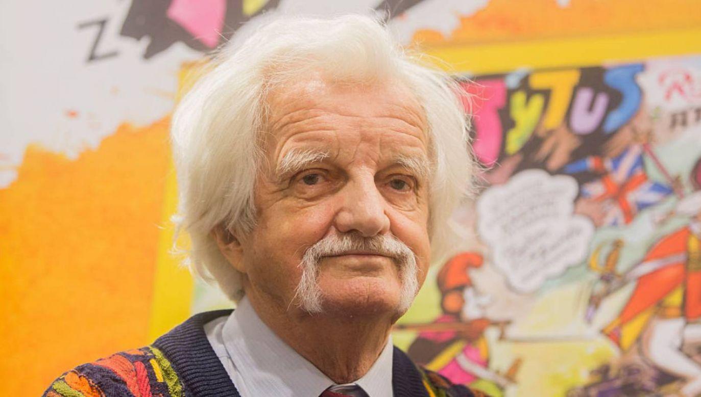 Na jego komiksach wychowała się cała Polska (fot.Adam Guz/Getty Images Poland/Getty Images)