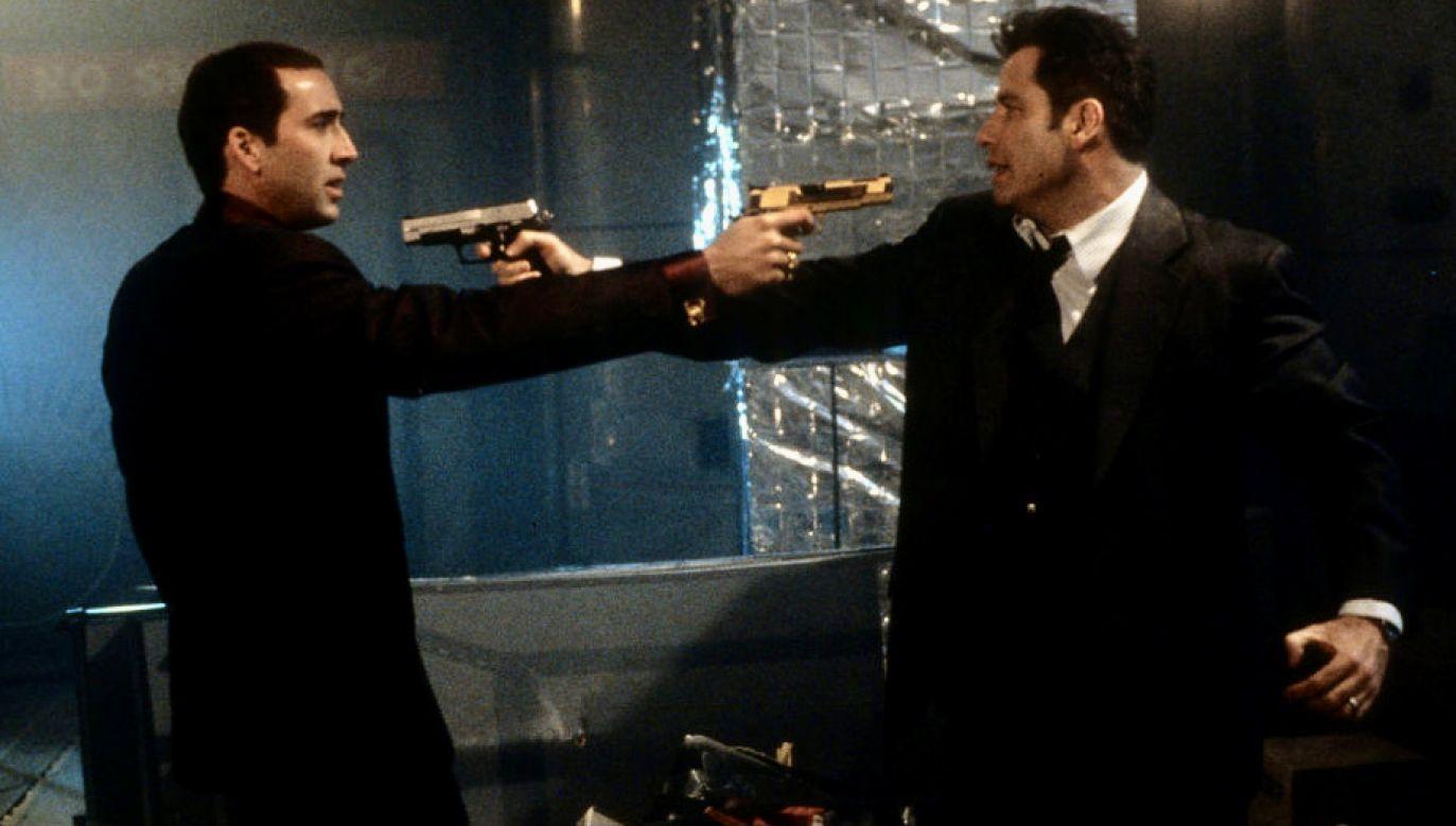 """Film """"Bez twarzy"""" z Johnem Travoltą i Nicolasem Cage'm w rolach głównych(fot. Touchstone/Getty Images)"""