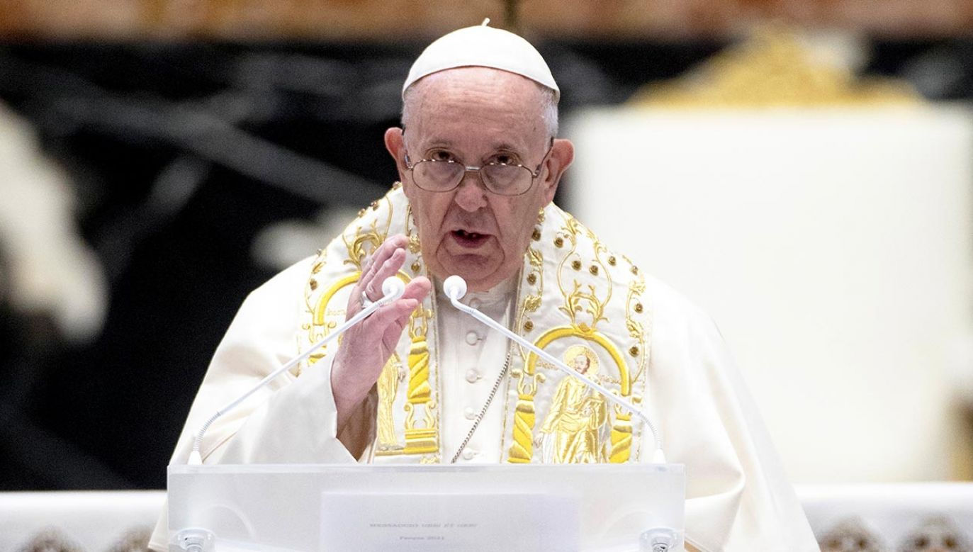 Słowa papieża Franciszka (fot. Vatican Pool/Getty Images)
