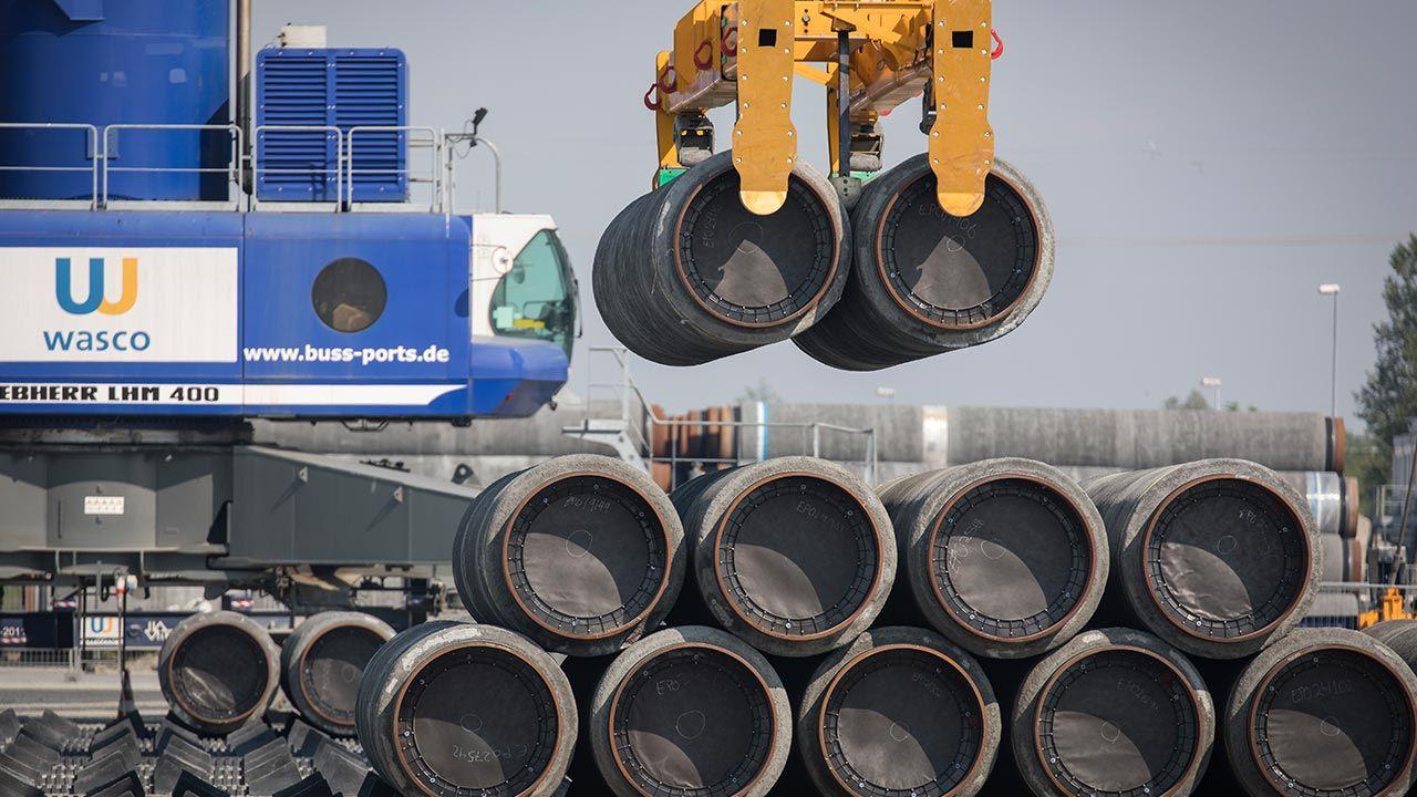 Porozumienie ws. Nord Stream 2 (fot. Axel Schmidt/Getty Images)