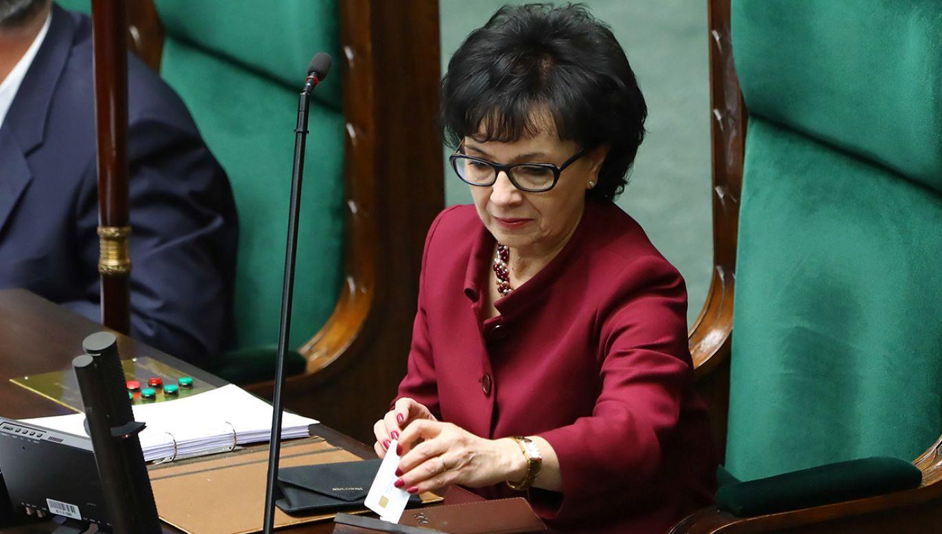 """Wniosek jest skierowany """"w poczuciu odpowiedzialności za państwo"""" (fot. PAP/Rafał Guz)"""